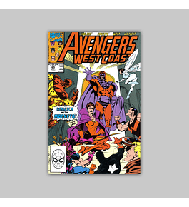 Avengers West Coast (Vol. 2) 60 1990