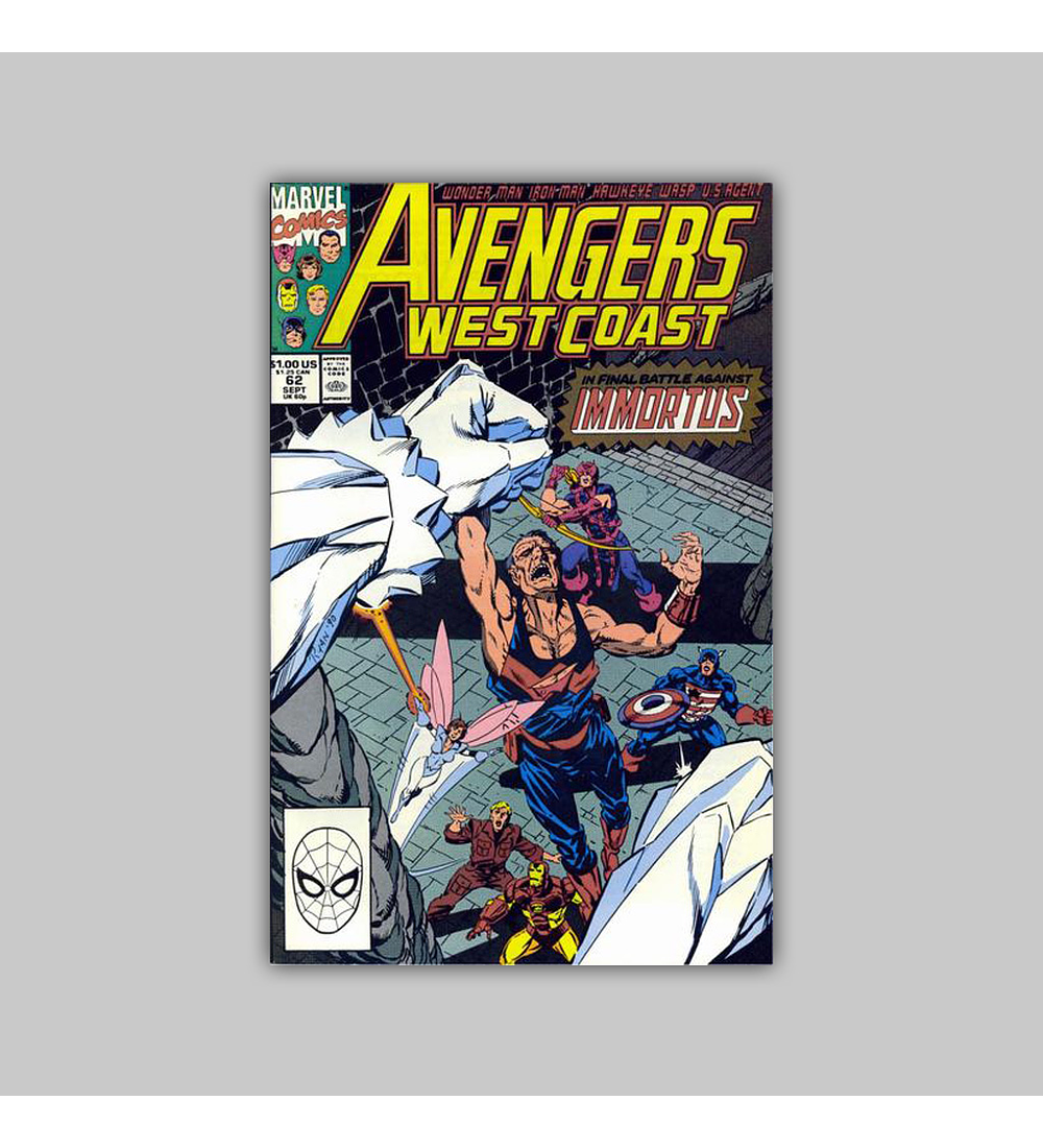 Avengers West Coast (Vol. 2) 62 1990