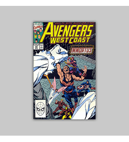 Avengers West Coast (Vol. 2) 62 1990