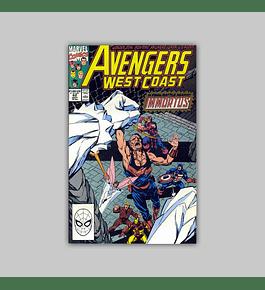 Avengers West Coast 62 1990