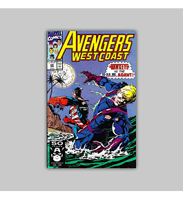 Avengers West Coast (Vol. 2) 69 1991
