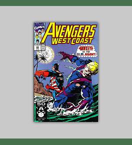 Avengers West Coast 69 1991