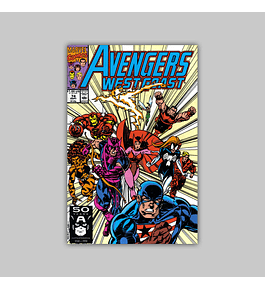 Avengers West Coast (Vol. 2) 74 1991
