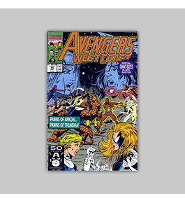 Avengers West Coast (Vol. 2) 75 1991