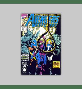 Avengers West Coast 76 1991