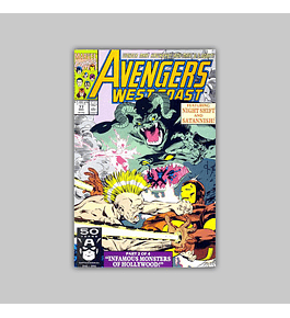 Avengers West Coast (Vol. 2) 77 1991