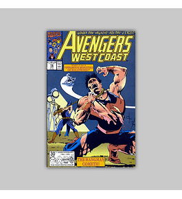 Avengers West Coast 78 1992