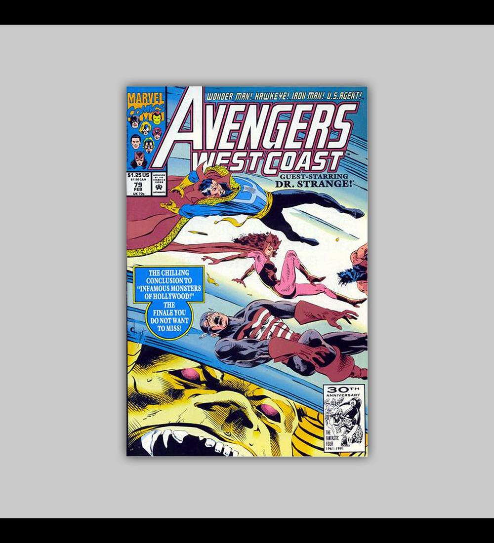 Avengers West Coast (Vol. 2) 79 1992