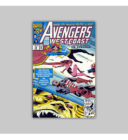 Avengers West Coast (Vol. 2) 79 1992