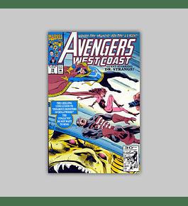Avengers West Coast 79 1992