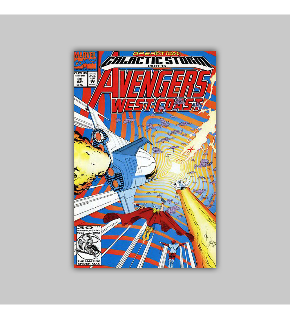 Avengers West Coast (Vol. 2) 82 1992