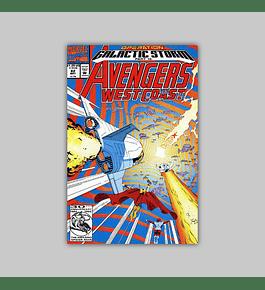 Avengers West Coast 82 1992