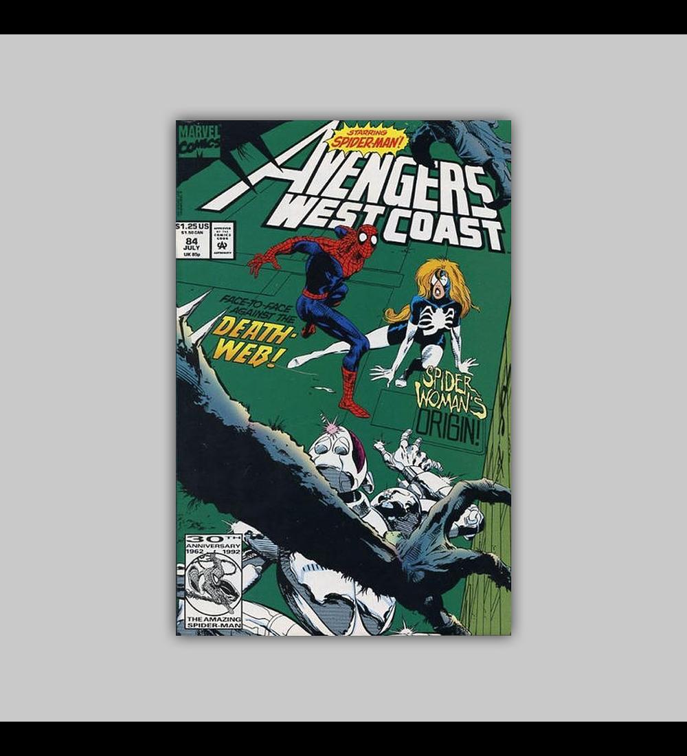 Avengers West Coast 84 1992