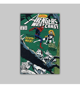 Avengers West Coast (Vol. 2) 84 1992