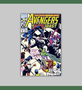 Avengers West Coast 85 1992