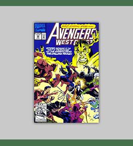 Avengers West Coast 86 1992