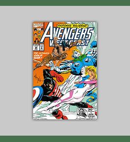 Avengers West Coast 88 1992
