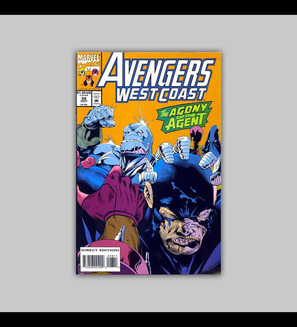 Avengers West Coast (Vol. 2) 98 1993