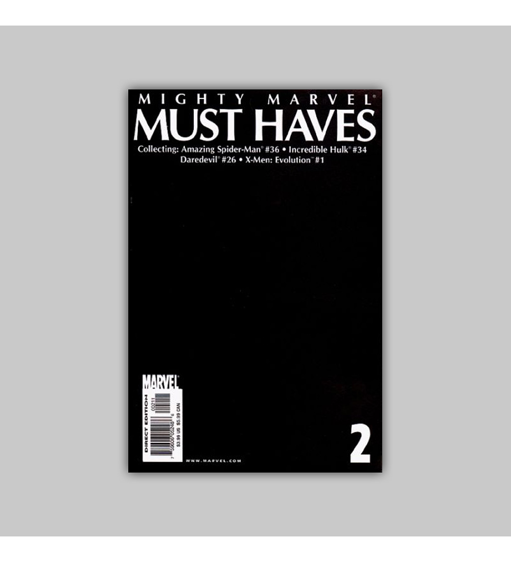 Mighty Marvel Must Haves 2 2002