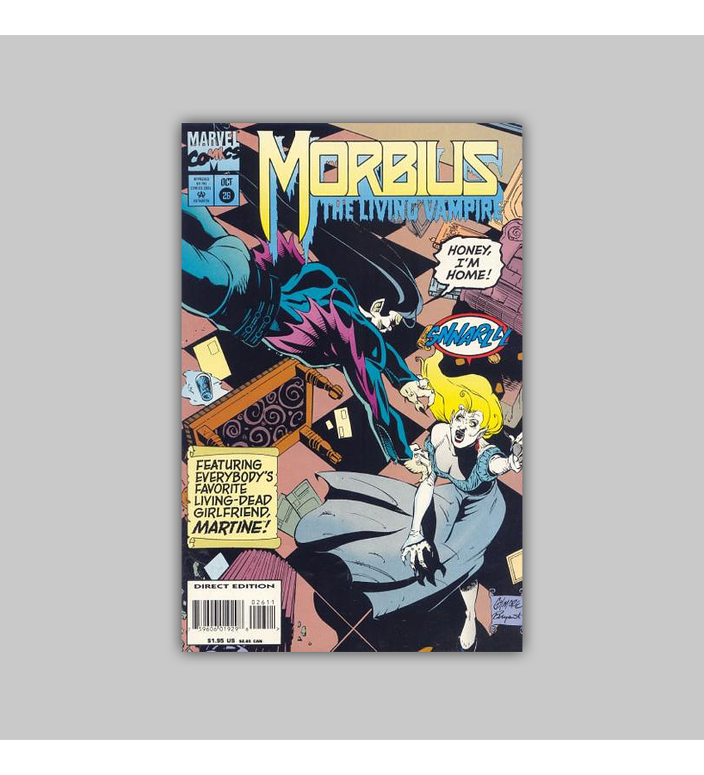 Morbius: The Living Vampire 26 1994