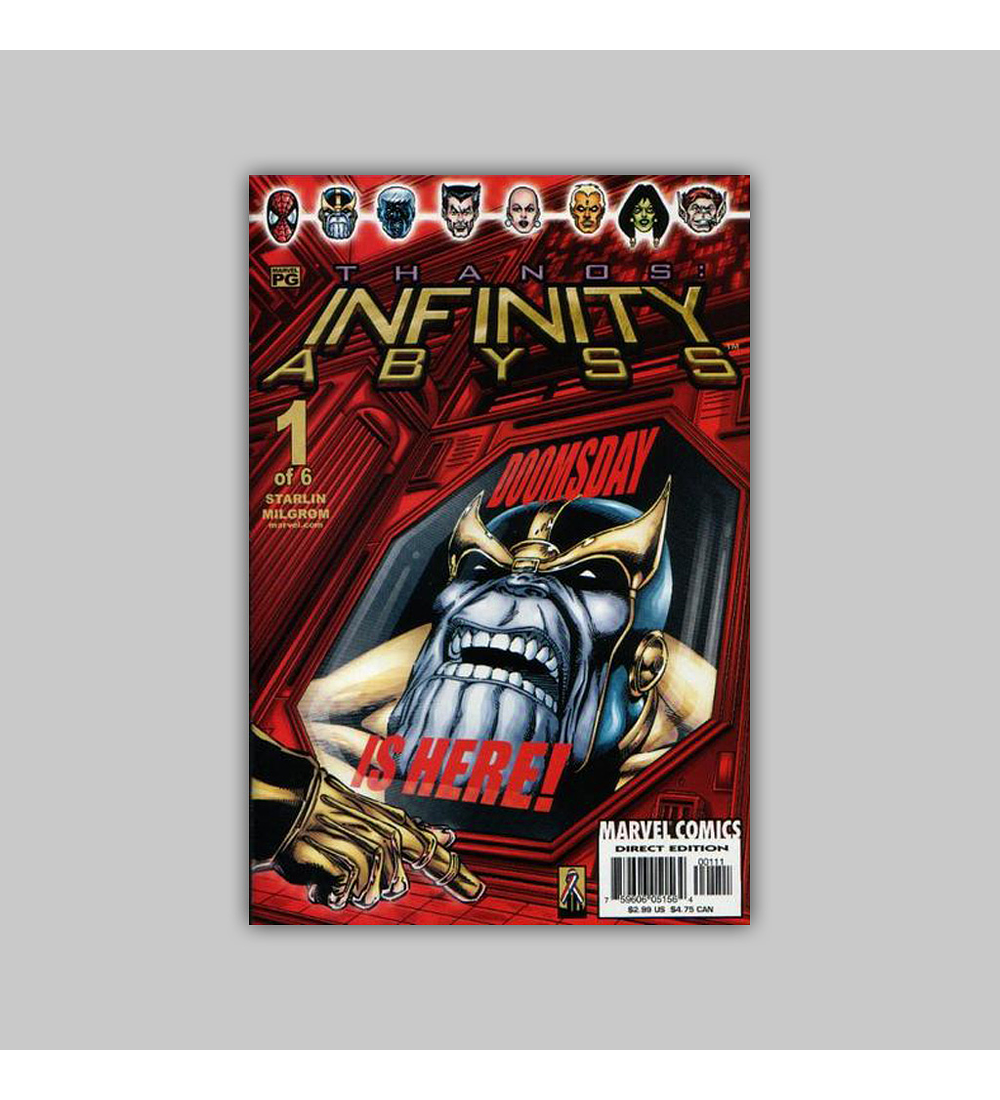 Thanos: Infinity Abyss 1 2002
