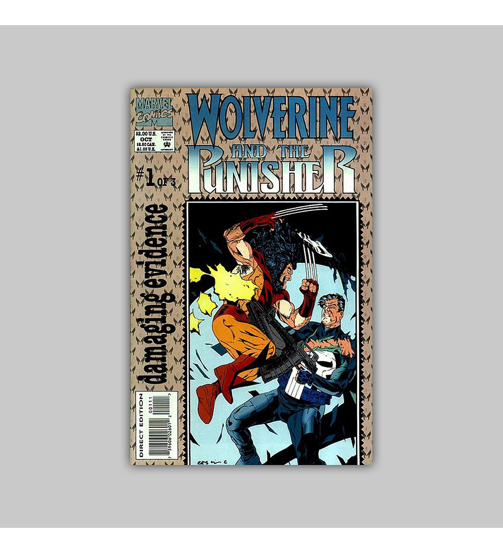 Wolverine and the Punisher: Damaginf Evidence 1 1993