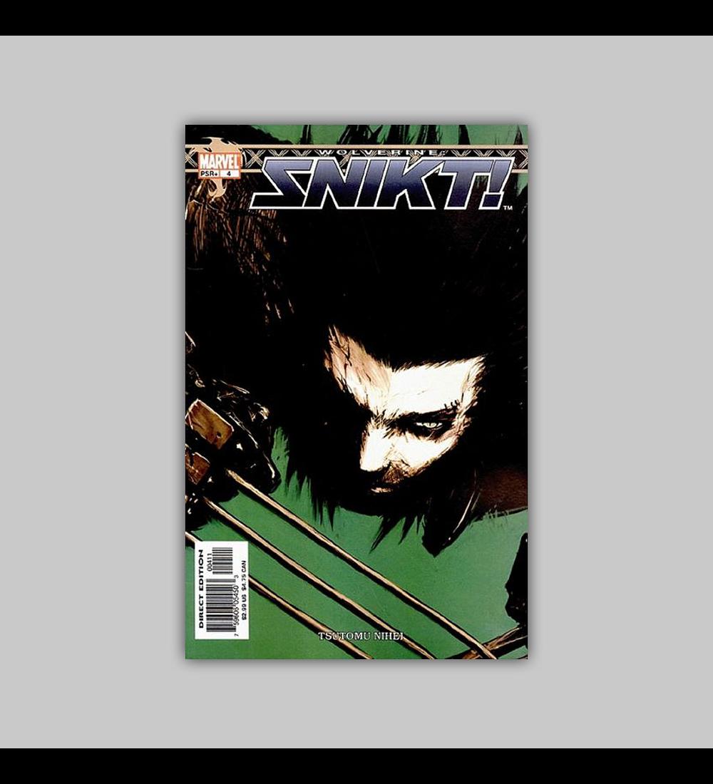 Wolverine: Snikt! 4 2003