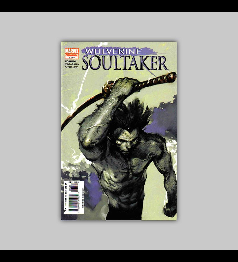 Wolverine: Soultaker 5 2005