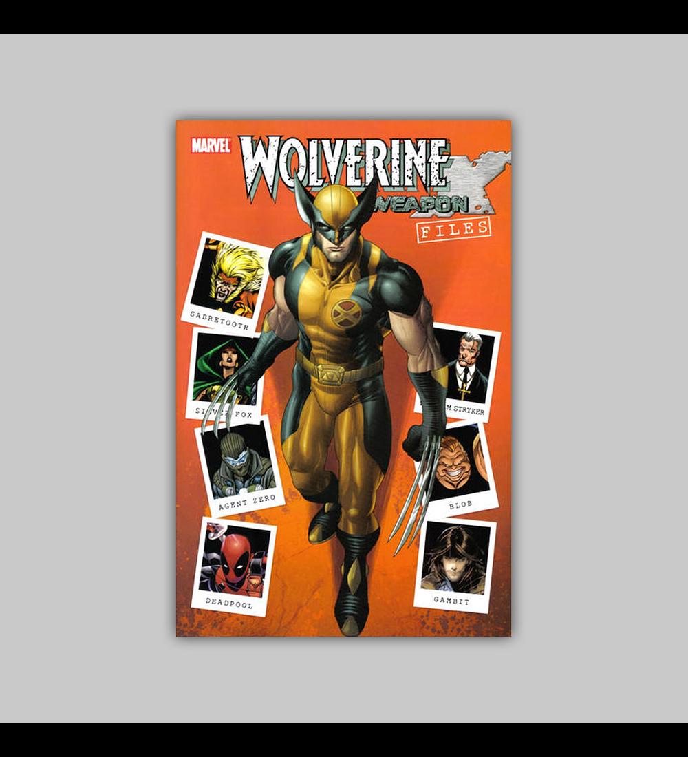 Wolverine: Weapon X Files 2009