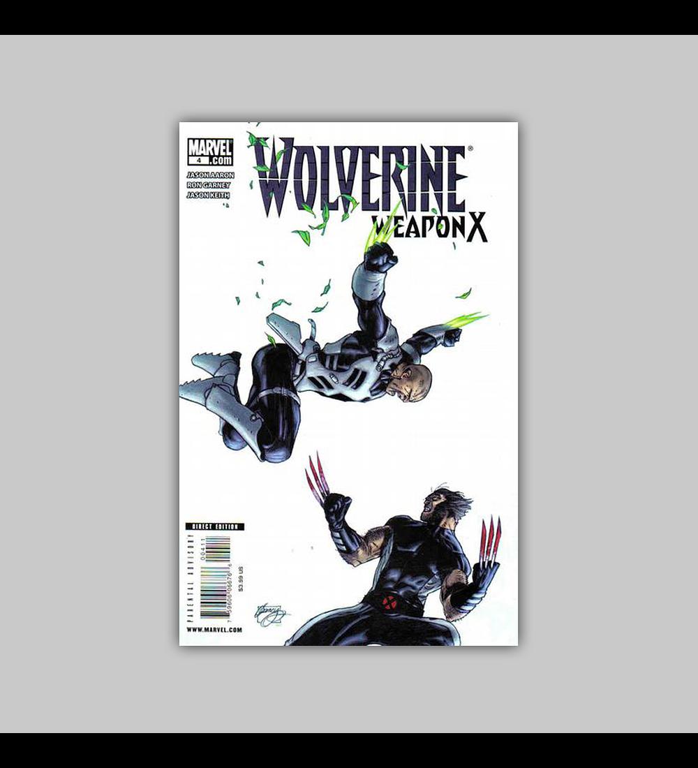 Wolverine: Weapon X 4 2009
