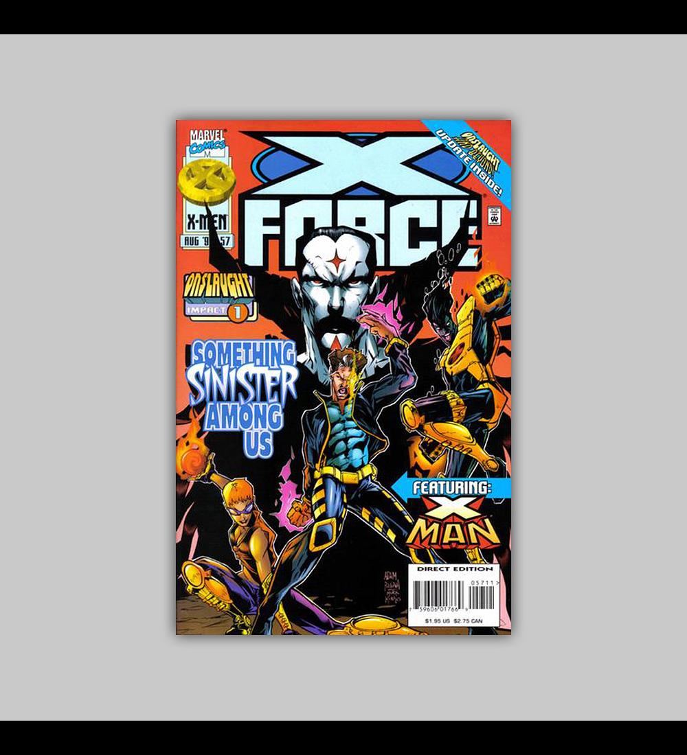 X-Force 57 1996