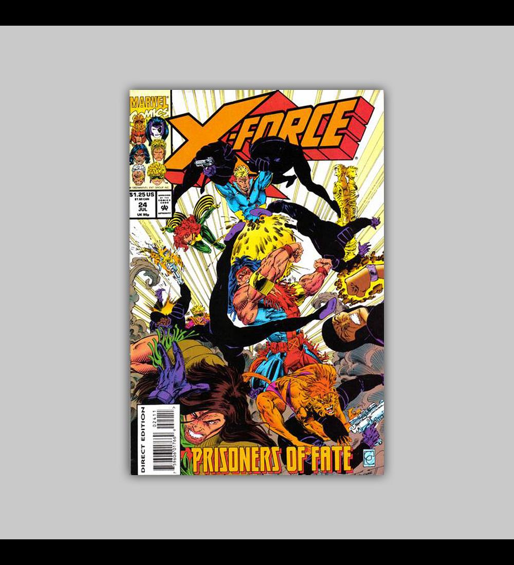 X-Force 24 1993