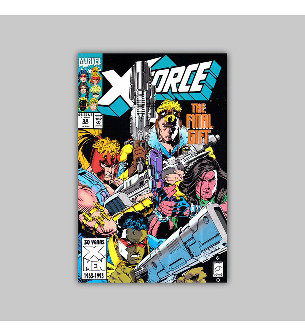 X-Force 22 1993