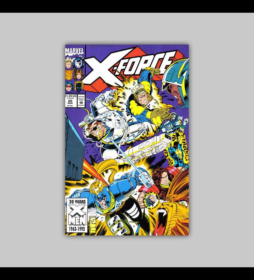 X-Force 20 1993