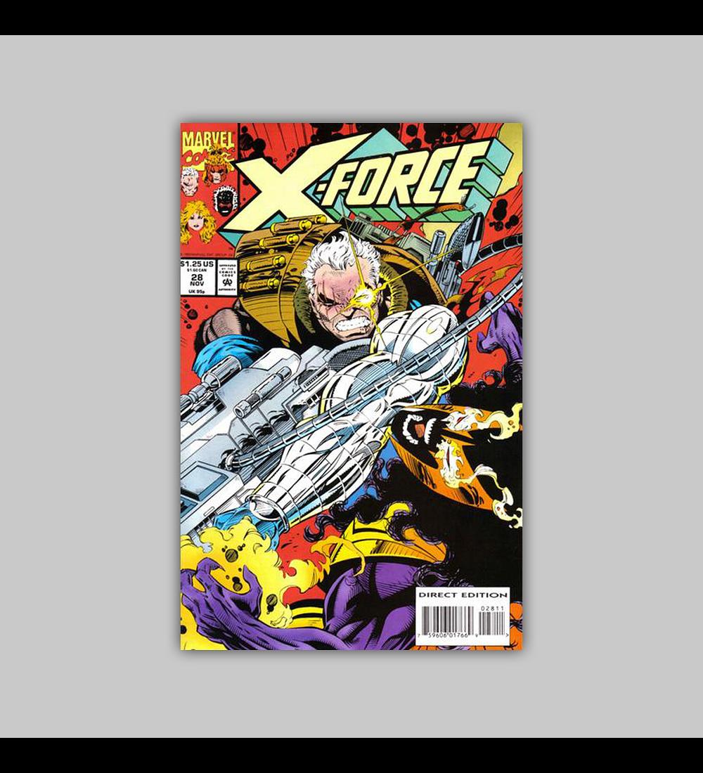 X-Force 28 1993
