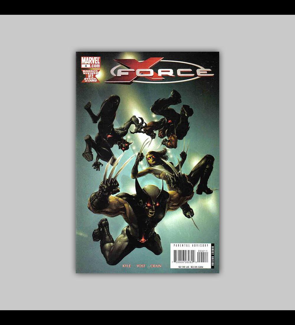 X-Force (Vol. 3) 4 2008