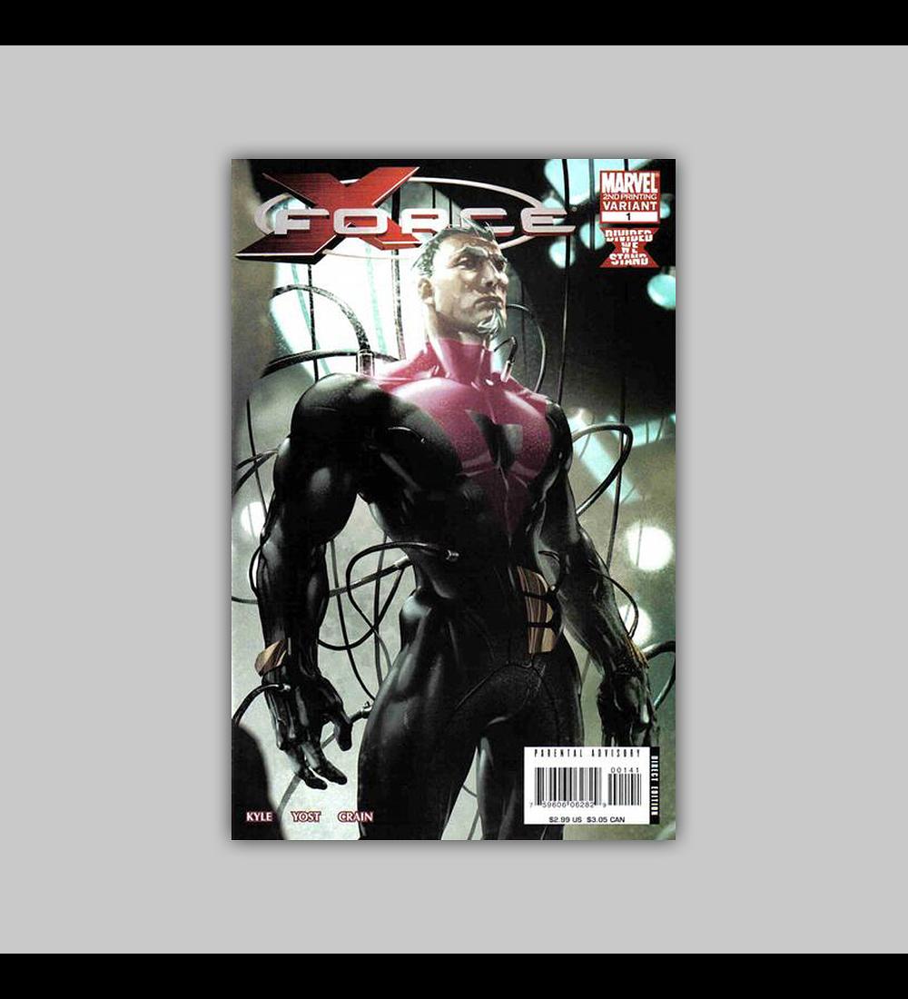 X-Force (Vol. 3) 1 2nd. Printing 2008