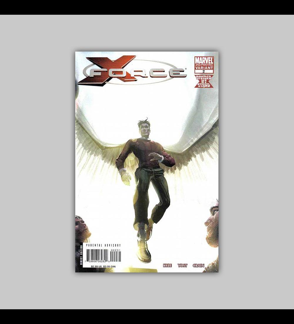X-Force (Vol. 3) 2 2nd. Printing 2008