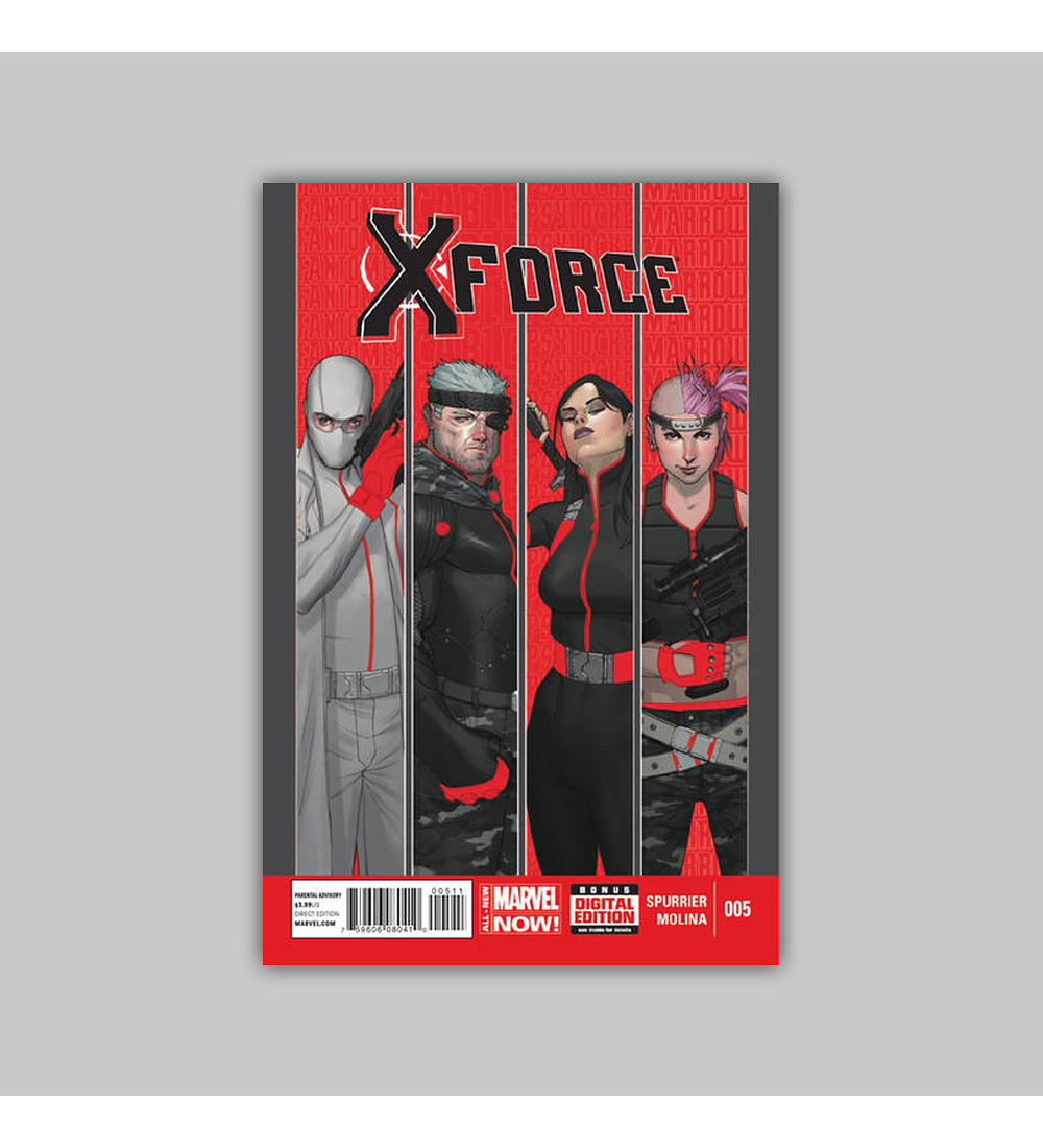 X-Force (Vol. 4) 5 2014
