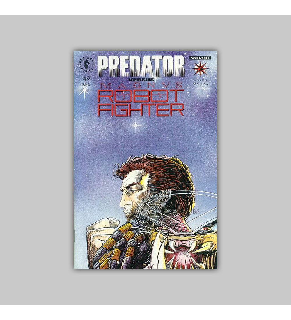 Predator Vs. Magnus Robot Fighter (complete limited series) 1992