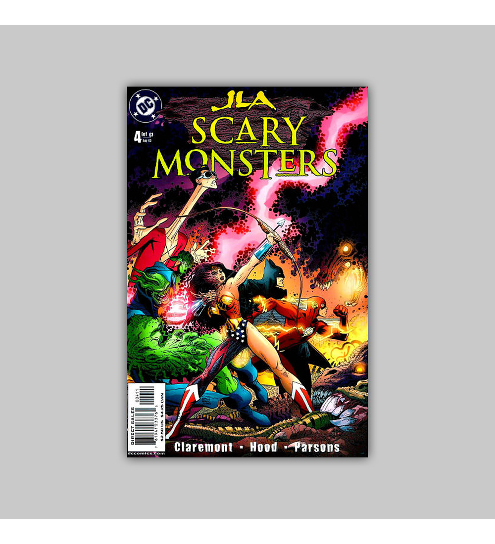 JLA: Scary Monsters (complete limited series) 2003