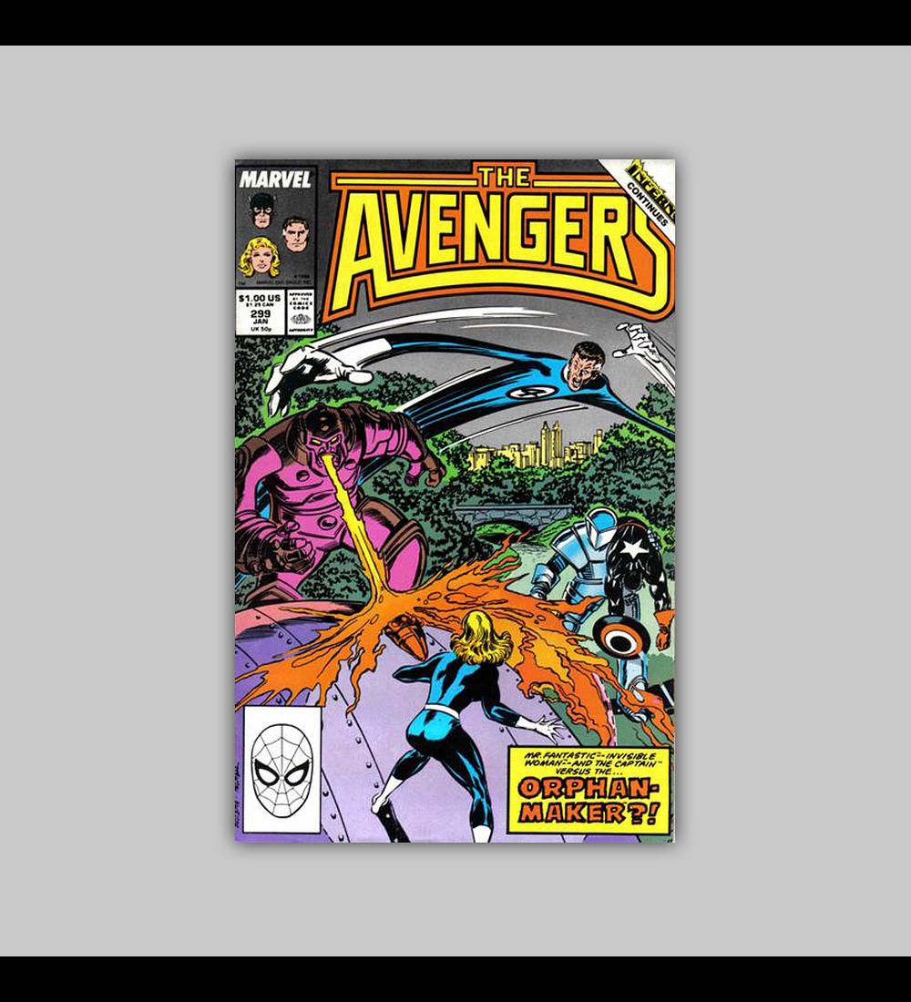 Avengers 299 1989
