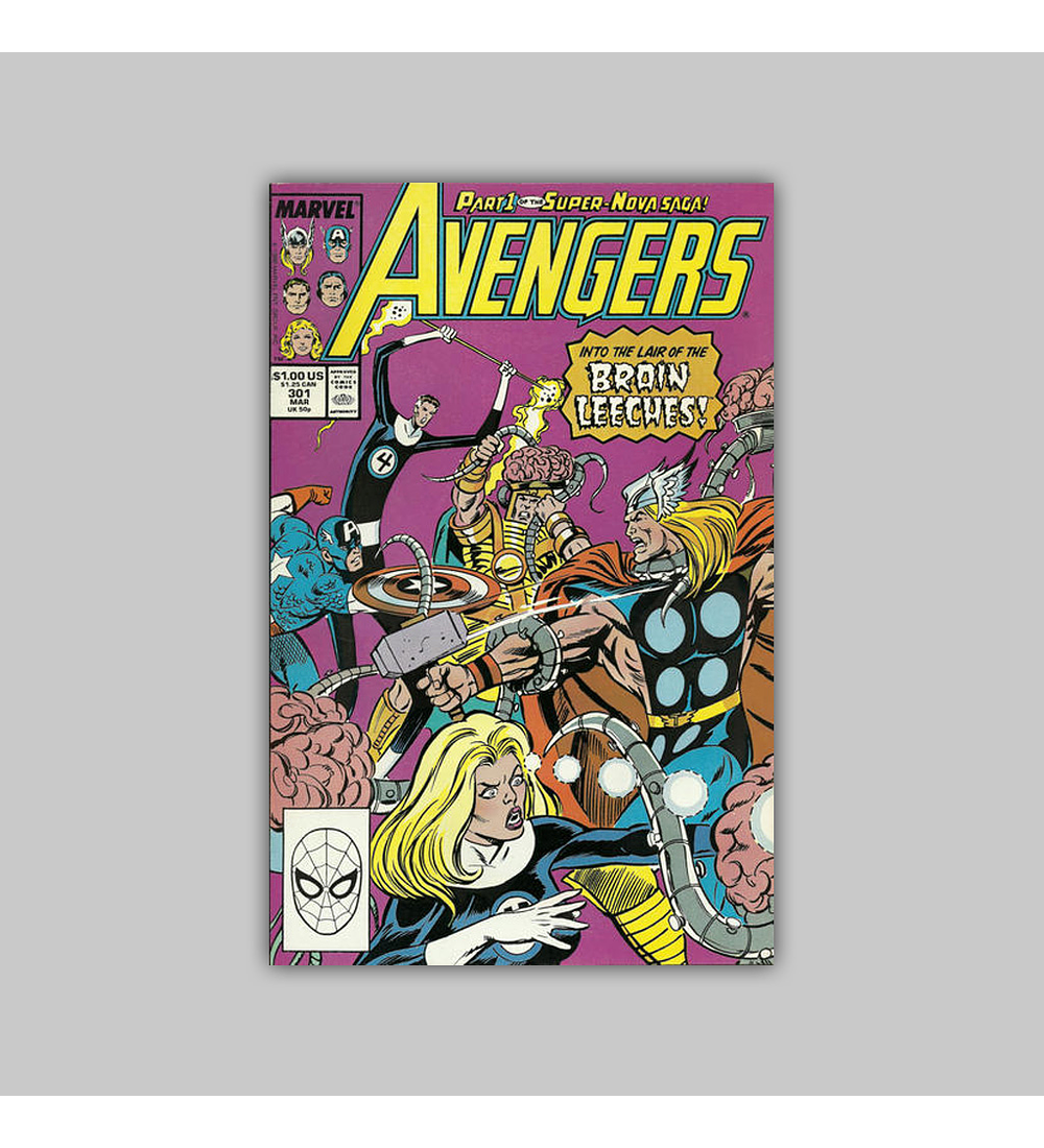 Avengers 301 1989