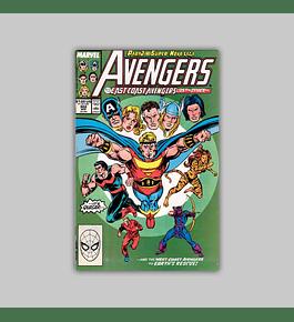 Avengers 302 1989