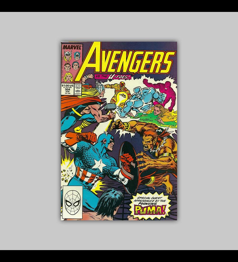 Avengers 304 1989