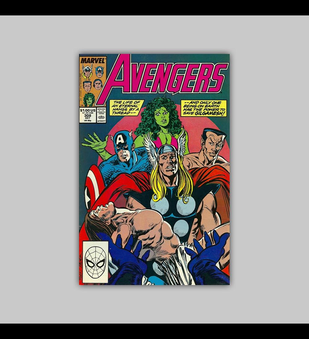 Avengers 308 1989