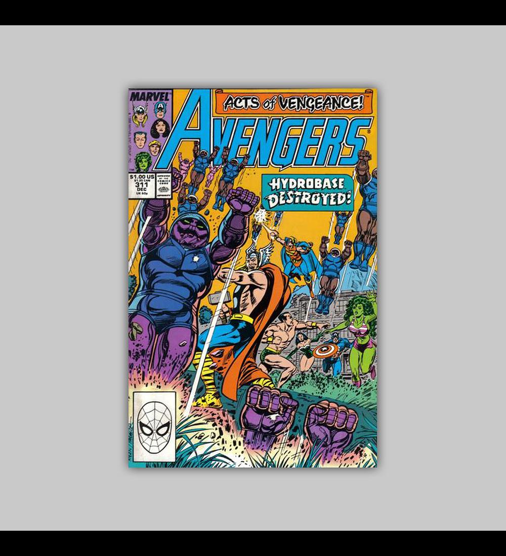 Avengers 311 1989