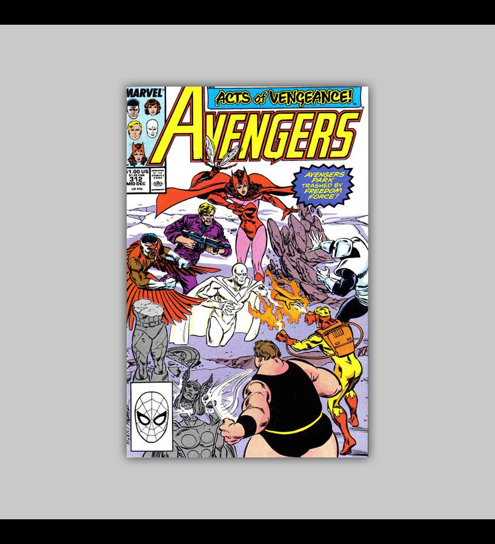 Avengers 312 1989