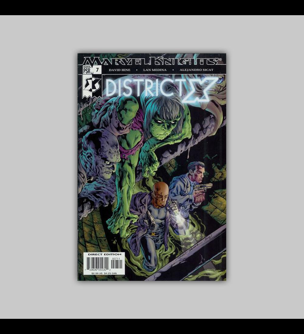 District X 7 2005