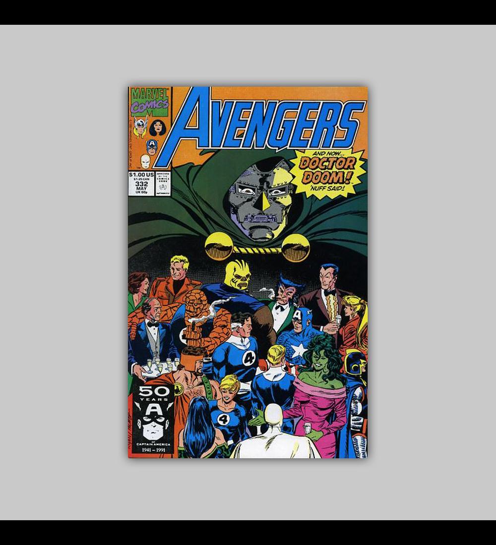 Avengers 332 1991